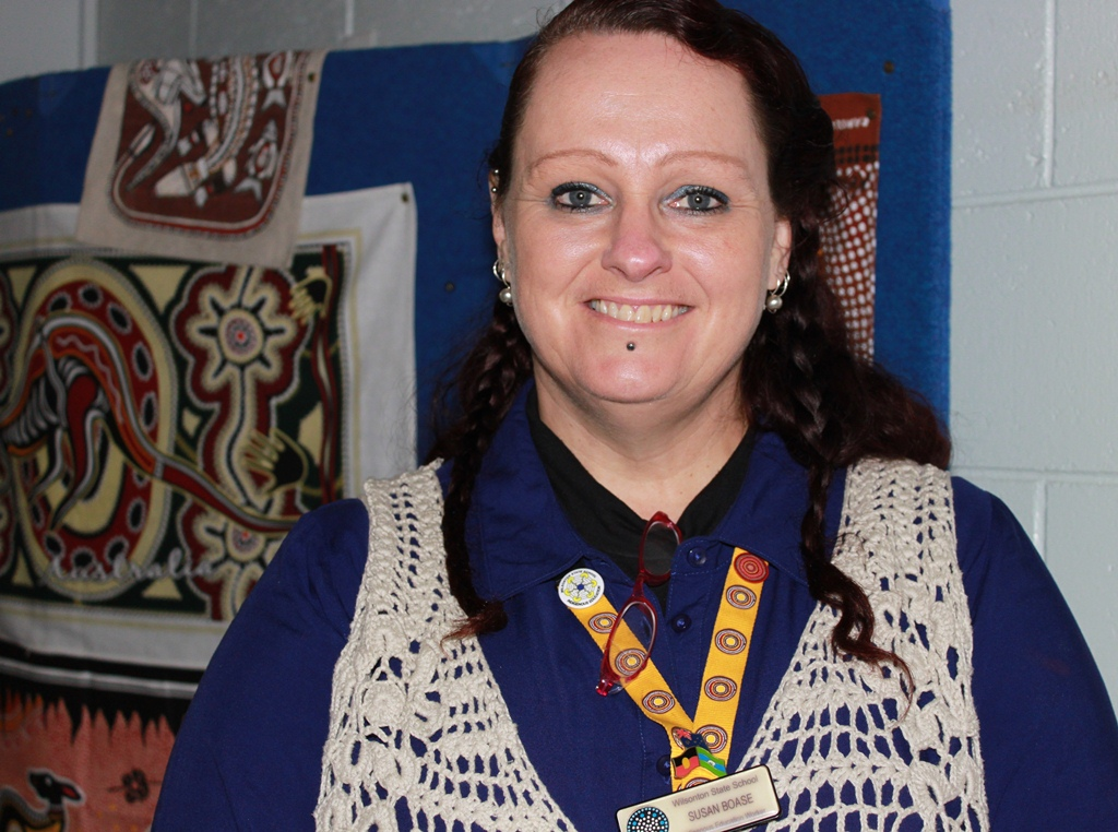 Susan Boase Indigenous Education worker